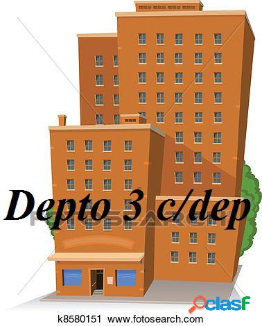 Alquiler Departamento 3 Ambientes COLON Y LA RIOJA Mar del