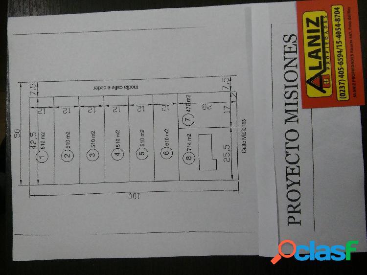 : EXCELENTE PREDIO EN MORENO A METROS DE ACCESO OESTE 5000