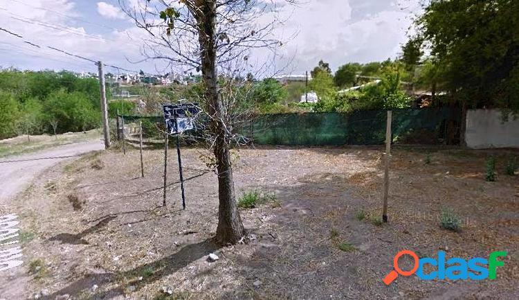VENDO LOTE DE TERRENO EN Bº QUEBRADA DE LAS ROSAS