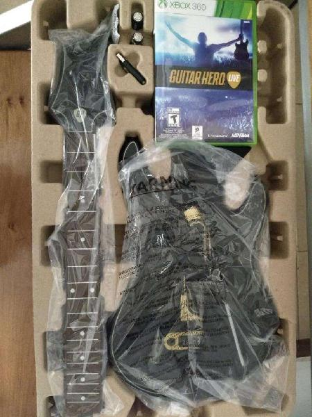 Guitar Hero LIve Guitarra y Juego Fisico Nuevo!!!!