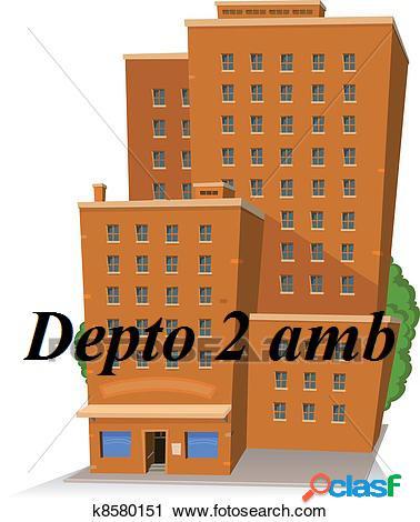 Alquiler Departamento 2 Ambientes GASCON Y ALSINA Mar del
