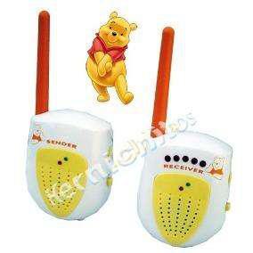 Baby Call Winnie Pooh Bebés Sonido Y Luz Alcance 100mts