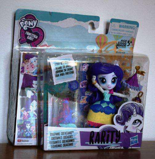Equestria Girls Rarity Muñeca Articulada Hasbro Original