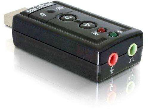 Placa De Sonido Usb 7.1 C/ Control Volumen Y Leds La Plata