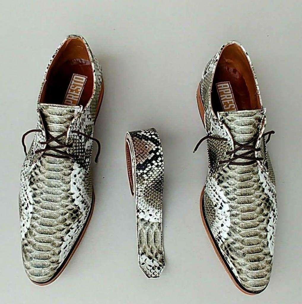 Zapatos de Cuero de Vestir para Hombres