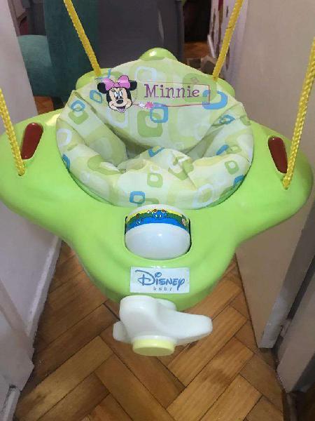 Jumper Minnie Hamaca Saltarin para Bebe