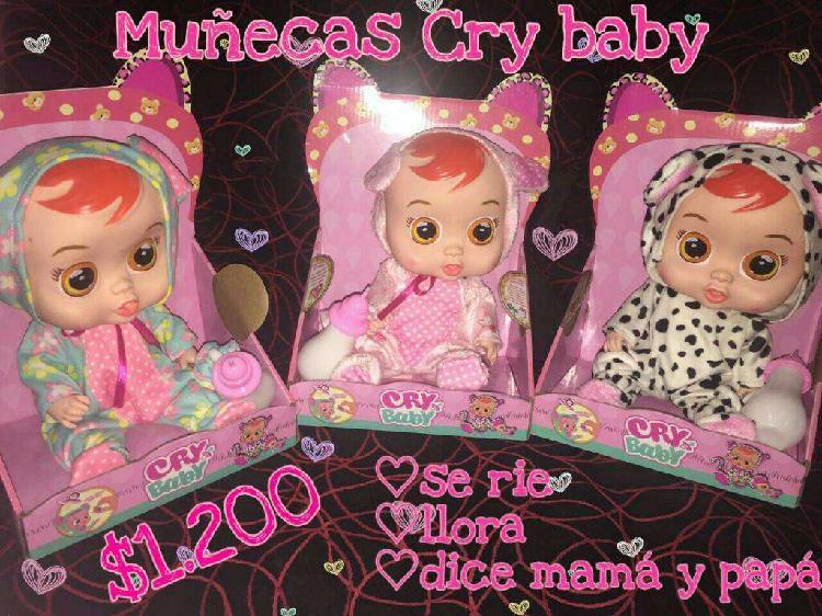 Muñecas Cry Baby