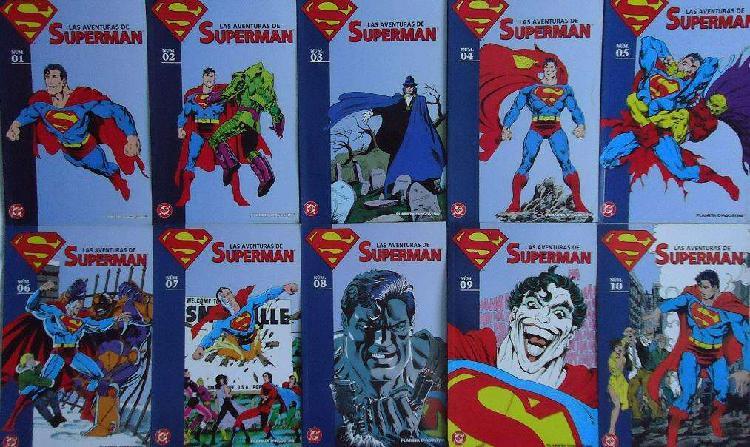 Coleccionable Planeta Superman 40 tomos DC Comics