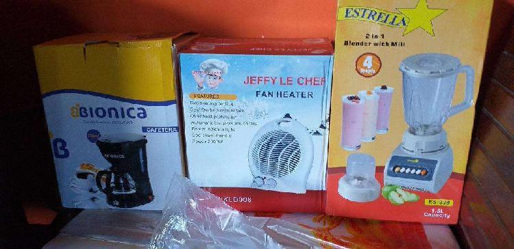 Vendo Horno Electrico, Cafetera Y Mas