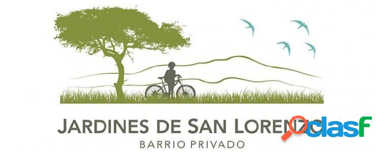Venta de terrenos en Jardines de San Lorenzo. Distintas