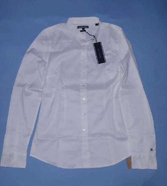 Camisa Tommy Mujer Original Tall M Nueva