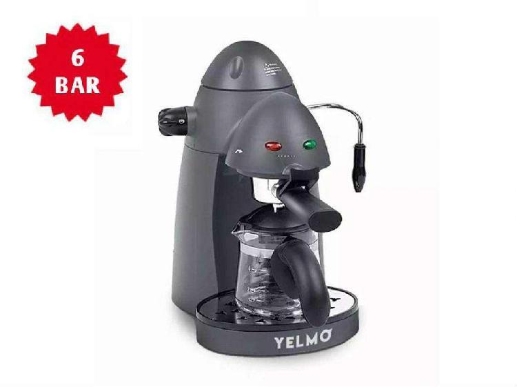 CAFETERA EXPRESS YELMO 6 BAR 800W CE5106// NUEVAS CON