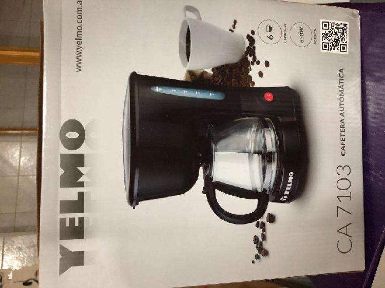 Cafetera Automática YELMO CA 7103 Nueva