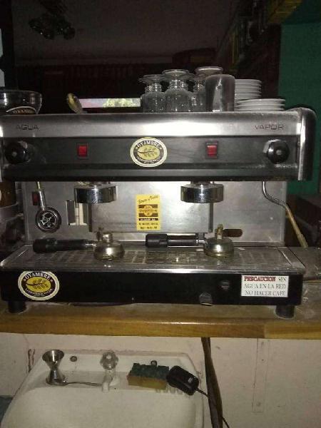 Maquina de cafe expres 2 bocas