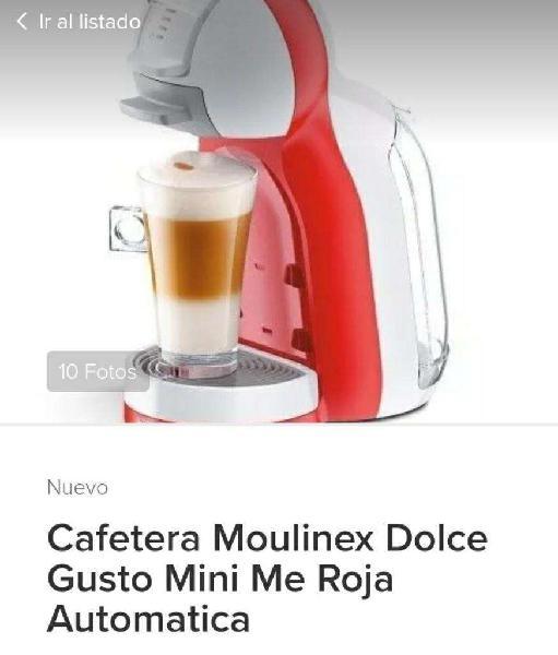 Vendo Cafetera Mini Me Dolce Gusto Nueva