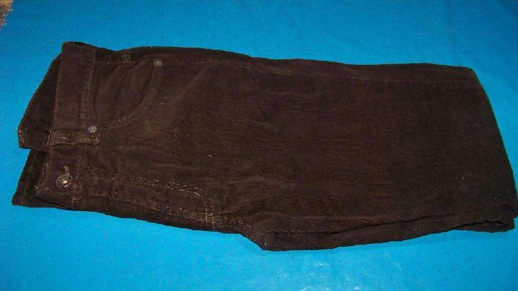 Pantalón De Corderoy Marrón, Teverniiti, De Hombre, Talle