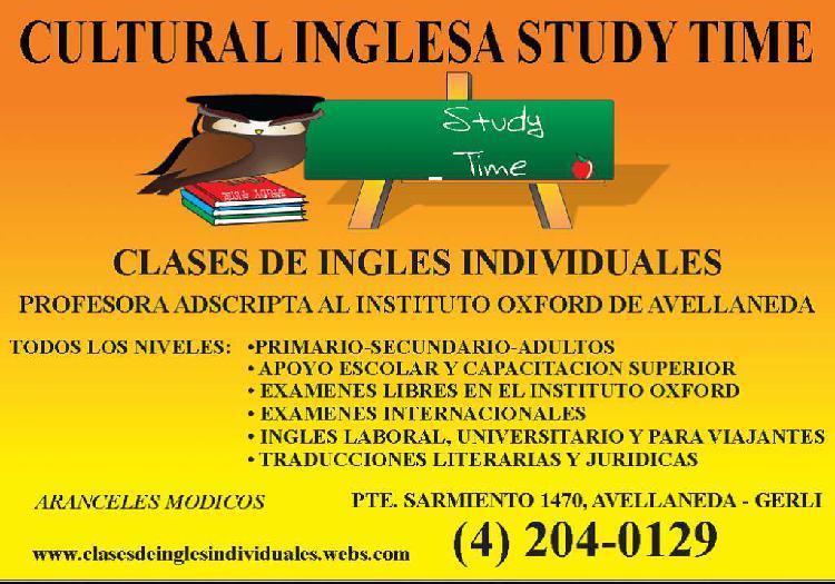 CLASES DE INGLES EN AVELLANEDA