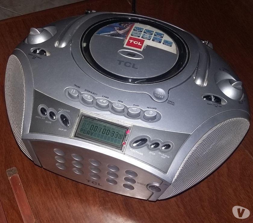 VENDO EQUIPO DE AUDIO CON RADIO CD MP3 Y PASACASSETTE