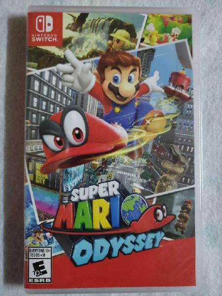Juego Nintendo Switch Supermario Odyssey