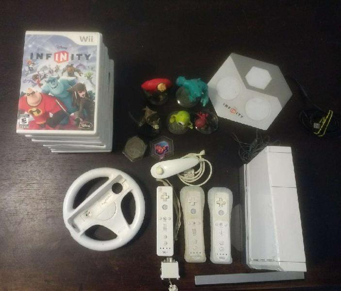 Nintendo Wii 16 Juegos Accesorios