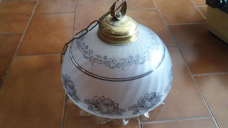 VENDO LAMPARA COLGANTE DE VIDRIO