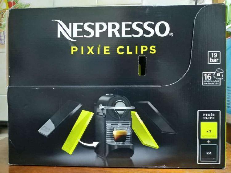 CAFETERA NESPRESSO PIXIE CLIPS