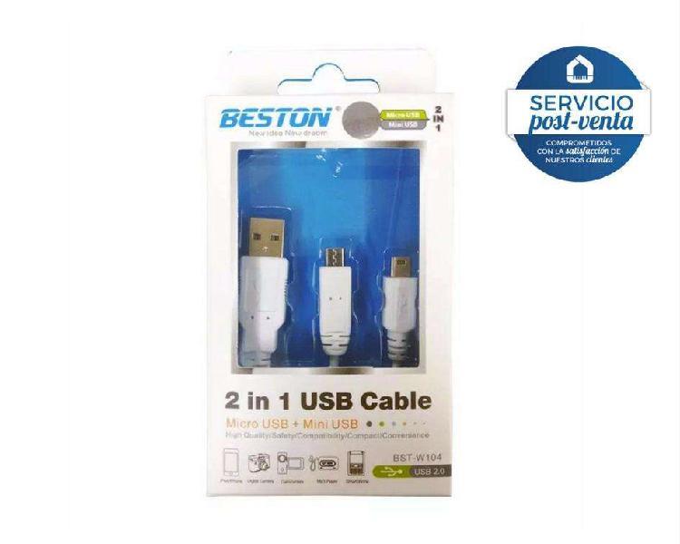 Cable usb a mini usb micro usb
