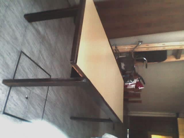 Mesa Comedor Extensible, DE Madera