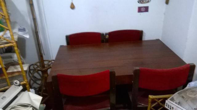 Mesa De Comedor De Algarrobo. Pago Al Retirar.