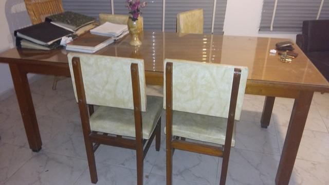 Mesa de Living y 4 sillas