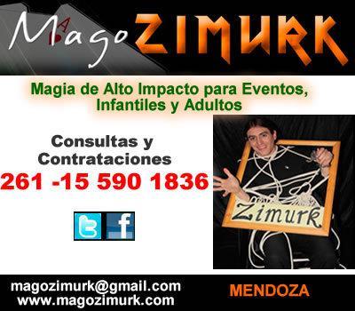 Shows para fiestas en Godoy Cruz Mendoza - Mago Zimurk