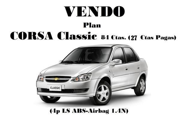 Vendo Plan Chevrolet Corsa Classic