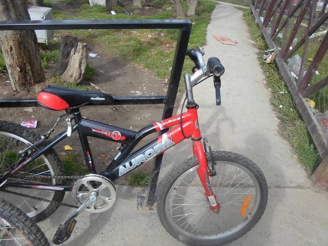 bicicleta aurora rod 20 y aurorita rod 16