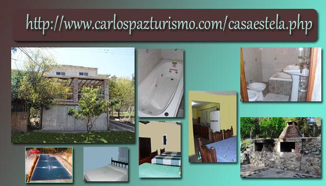Casa en Comuna San Roque mts/vistas lago de 6 a 10 pers