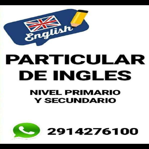 Clases Particular de Ingles