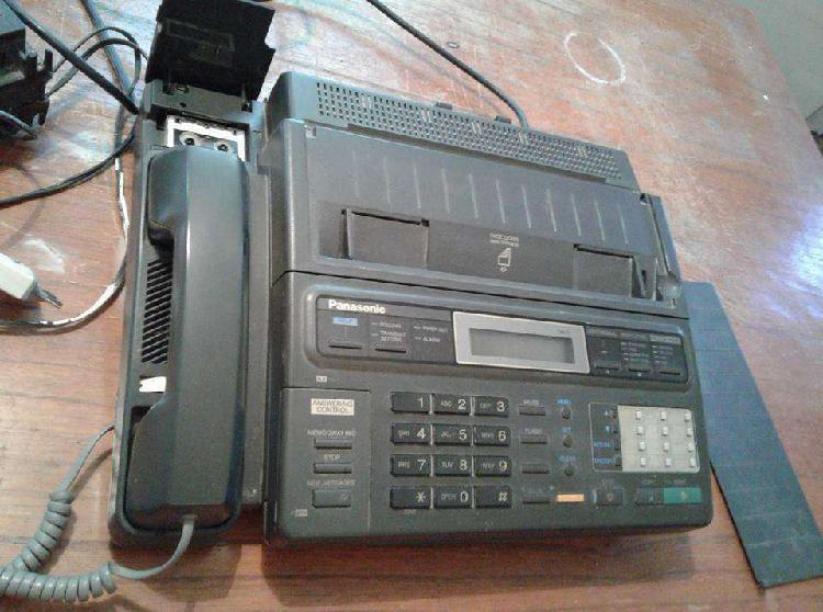"VENDO TELEFONO/FAX ""PANASONIC"" KXF230, CON ROLLO Y"