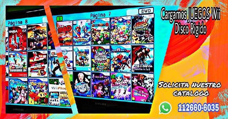 JUEGOS NINTENDO Wii CAP. FED.