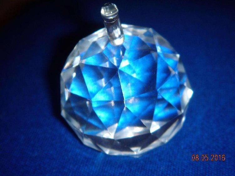 Miniatura De Cristal De Bohemia Manzana