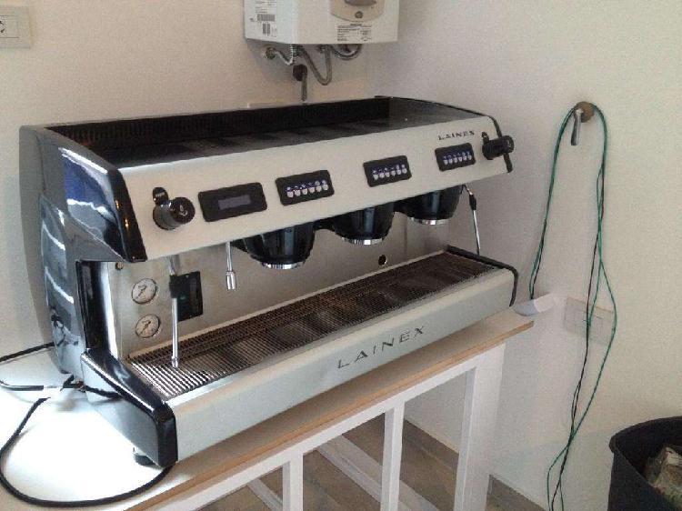 Cafetera Profesional - LAINEX - 3 bocas - Eléctrica Gas