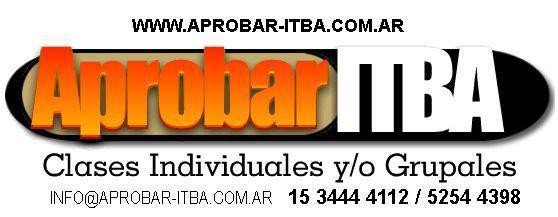 Clases de apoyo ITBA Capital Federal
