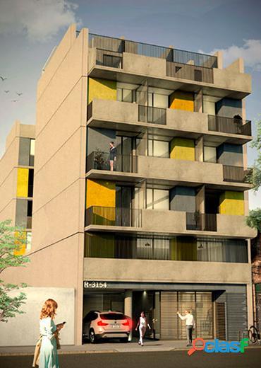 Departamento de 1 dormitorio con terraza exclusiva y patio