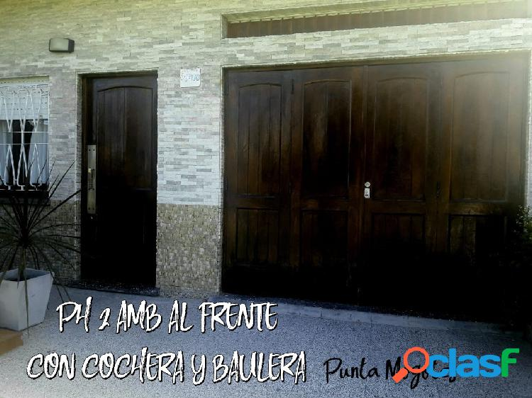 PH 2 AMB c/ COCHERA al FRENTE