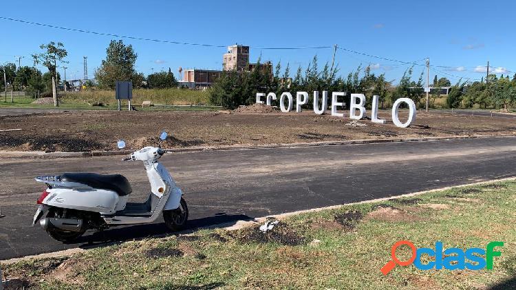 VENDO LOTE EN ECOPUEBLO/ALVEAR TODOS LOS SERVICIOS ULTIMOS