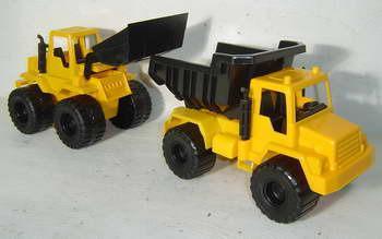 Vendo Set Constructor 2 Grande-Excavadora Y Camión