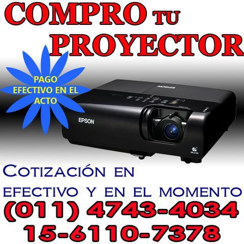 Compra y venta de proyectores usados - pago efectivo ya