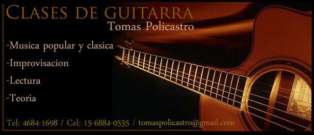 Clases de Guitarra en Liniers y a Domicilio