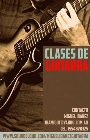 Clases de guitarra en Agronomía