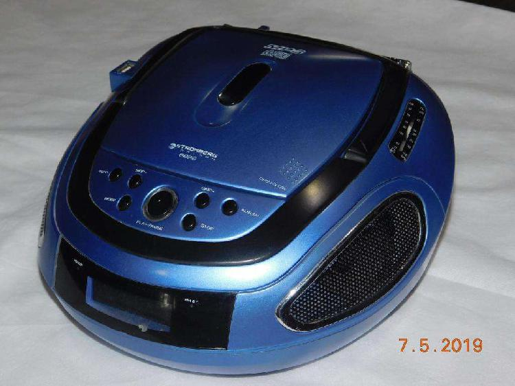 Reproductor de CD MP3 USB Radio AM FM Stromberg BB26