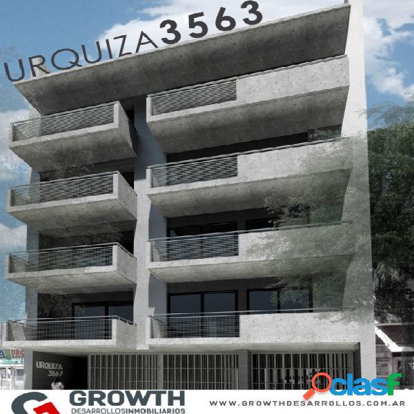 Urquiza 3563: departamento de 2 dormitorios con balcón en