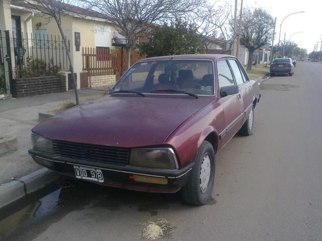 Vendo Peugeot 505 Con Gnc
